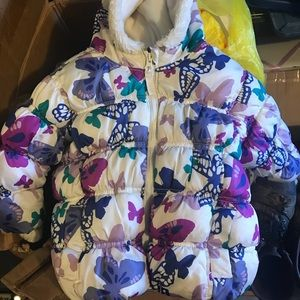 Adorable Old Navy Baby Girl Puffer Coat 12-18mos